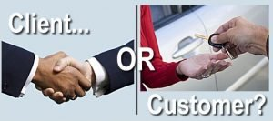 Clients or Customers?